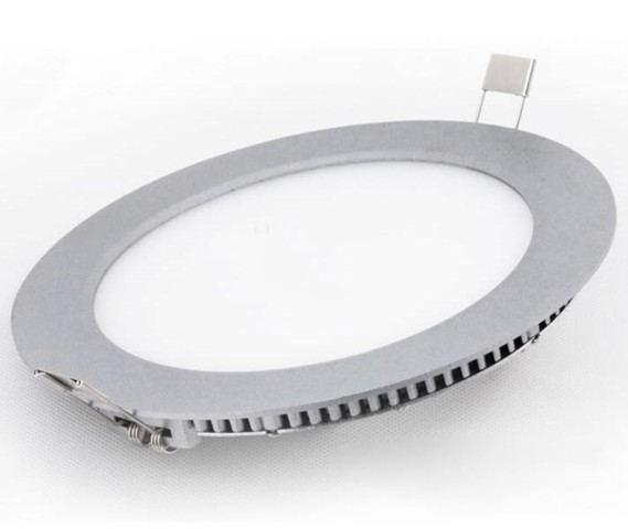 2pcs/lot 12W panel light super thin white 1150lm suspended smd led ceiling 85-265v(China (Mainland))