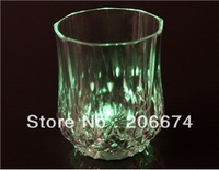 latest style 3 Flashing Modes Mini LED Wine Cup (Transparent)+ Free shipping