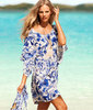 1pcs drop shipping new bikini cover up many color swimwear swim suit sexy for women summer beach Blue Kimono Beach dress
