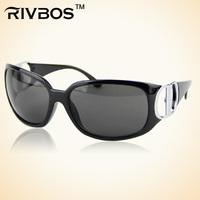 Rivbos personality sunglasses anti-uv all-match fashion male women's glasses wt0015