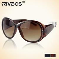 Rivbos personality girls sun glasses the trend of fashion diamond glasses rw2271