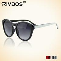 Rivbos trend gradient sunglasses personalized vintage harry glasses wt0104