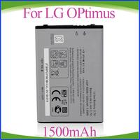 DHL Freeshipping 200pcs/lot 1500mAh LGIP-690F LGIP690F  Replacement For LG Optimus C900k Quantum Optimus 7Q Battery
