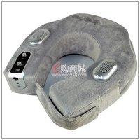 Free shipping!U shape Musical Neck Massage pillow Cushion vibration Massage mattress,Massage pillow