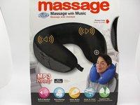 Electric Massage Pillow U-shaped MP3 / Music U-shaped neck pillow