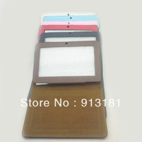 20pcs Protective Leather Case Cover with stand holder bandage for For 7 inch Tablet PC AllWinner Q88 Q8 A13 free shipping DHL