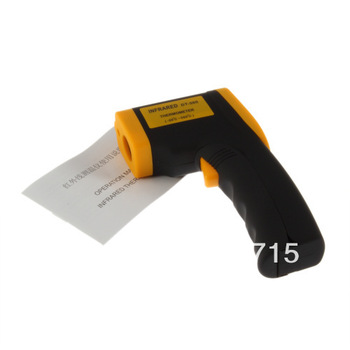 Free shipping non contact digital Infrared Laser IR Thermometer temperature testerhot sale 100% Brand New