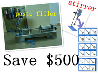 big discount free shipping automatic paste filling machine andlaboratory Digital Stirrer just for USD1638 save USD500!!
