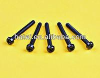 transparent pc screw bolt,diameter 3-6mm screw nut