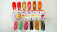 Free shipping in 3-4 days soak off one step gel no base no top 3 in 1(1 lot =12pcs)