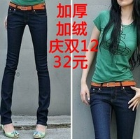 2013 Free shipping Lady long trousers women pants jeans
