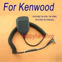 2 pin Handheld PTT Speaker Microphone for Baofeng UV-5R Wouxun KG-UVD1P KG-689 GU-16 Kenwood Radios