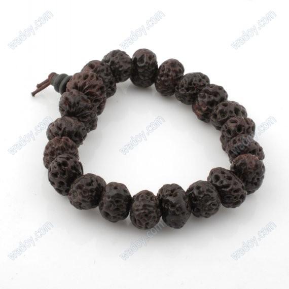 14 mm Bodhi sementes Prayer Beads budista tibetano meditação pulso Mala(China (Mainland))