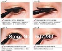 wholesale fast via DHL free shipping retail package eyeliner waterproof Makeup pen for women 1200pcs/lot