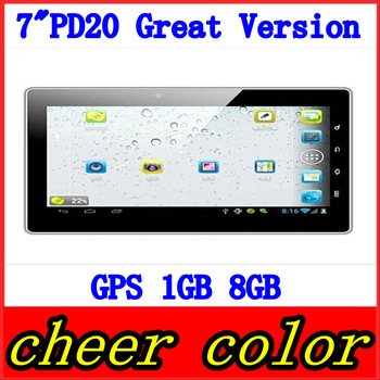 Freelander PD20 Great Version 7 inch Capacitive Screen 8GB HDMI Camera Android 4.0 GPS Tablet PC