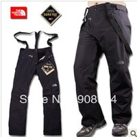 2012The high cost is waterproof and windproof three laminated male trousers titanium series