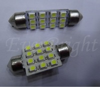 30 Pcs Festoon Dome Car Lamps 12V C5W 36mm 1210 12 SMD 12 Led Interior Reading Lights