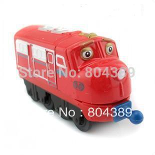 100% original!!! Learning Curve Chuggington Diecast Train Toy Wilson free shipping(China (Mainland))
