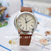 Fashion Woman's Quartz Watches Leather Jewelry Watch Casual Wrist watch Dropshipping Brown 051 Wristwatches New