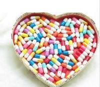 Wholesale 500pcs/lot 15 colors Korea Drama A millionaire's First Love PIlls/Capsule, Message Pils, Valentine Gift free delivery