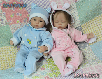 Free Shiping Super Simulation Babies Doll Lifelike Reborn Doll Soft Dolls For Baby Wholosale