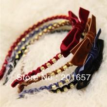 white headband bow price