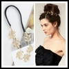 Min.order $10 Leaf Hair Clips Band headbands Hairpin delicate jewelry sets Free shipping Mixed order SPX2180