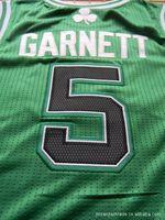 Free shipping 1 pcs/lotAll size Hot Sell Basketball Jerseys,Garnett jerseys,cheap with high quality,Accept Mix order