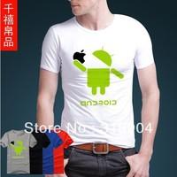 android man's casual t-shirt cotton T-shirt cardigan tee shirt summer cloth cheap t-shirt vest clothing short sleeve sweater 087