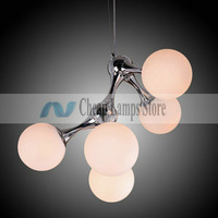 Freeshipping 5-Light Artistic Pendant Light in Warm White for Living Room, Bedroom in Modern/Comtemporary style