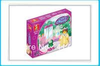 Inspire children M38-B0237 Queen the private room SLUBAN building blocks Kit DIY Toy, children's toys free shipping