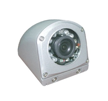 """1/3"""" SONY CCD Side View Vehicle Camera With 12pcs IR LED For ALL Kind Of Small Vehicle Car Waterproof IP67"""
