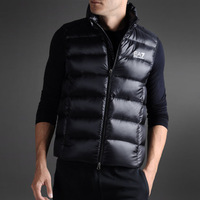 2013 European and American street fashion thick cotton vest vest men's new two-color FREE SHIPPING