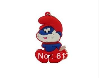Cartoon characters model USB 2.0 enough memory stick flash pen drive 4 gb 8 gb 16 gb and 32 gb