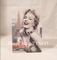 HOT The simulation Marilyn Monroe&novel safe Creative piggy bank mini book safe box,Secret book,3 sizes,Free shipping