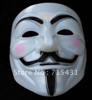 Free shipping! (10pcs /lot ) V Mask Vendetta party mask Halloween Mask