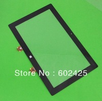 DHL EMS 500pcs/lot  Brand NEW For Microsoft Surface RT(32GB/ cover) Touch Screen glass LENS Digitizer