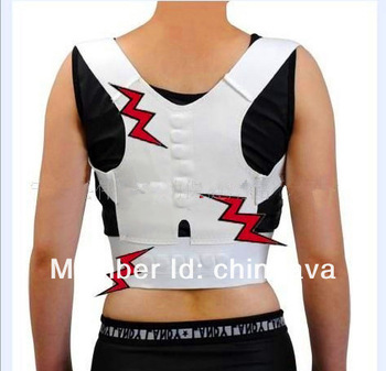 Free shipping via express Hot 100pcs/lot Magnetic Therapy back&shoulder supporter Posture Orthopedic brace belt support personal