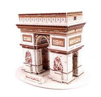 Roman Triumphal Arch DIY 3D three-dimensional puzzle 3D paper models 3d puzzle world's great architecture