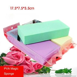 PVA High Density Multi-function Cleaning Sponge 175*75*35mm Magic Sponge Super Soft(China (Mainland))