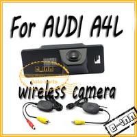 for AUDI A4L Wireless Car Rear View Camera for car dvd/car mirror/car gps free shipping