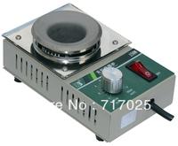 Lead-Free Solder pot/ Round Titanium alloy Soldering Pot/Mini Type lead free solder machine PFL-38D