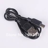 Free Shipping 2FT 5PIN Mini B to A USB 2.0 Cable MP3 MP4 Camera