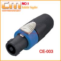 [10pcs/lot]4 Pole Speakon Connector CE003 like Neutrik NL4FX