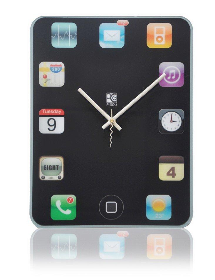 Ipad Shape Wall Clock Home Decorations Diy Clock Free