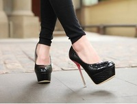 free ship occident Ladies Sexy closed Toe super High Heels Wedding Shoes Eur size 34-39 Wholesale and retail 431 Pixie Store