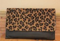 NEW Women Girl Clutch Purse Leopard Envelope Shoulder Bag Korea style fashion Ms. Clutch, Lady evening bag