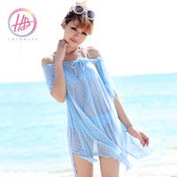 Beach sun protection clothing sun-shading swimwear beach wear beach clothes sun protection clothing gauze cover product