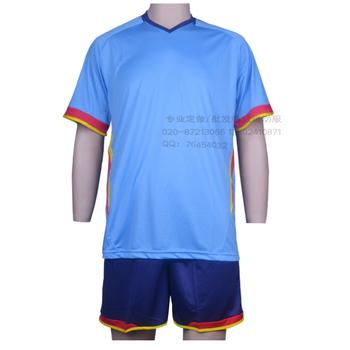 T006 terylene jersey blank training service logo printing ball