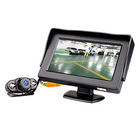 4.3 Inch Parking Monitor with Wireless Nightvision Rearview Camera  & Free Shipping